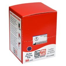 DayMark® 113409 Alcohol Pads Refill - 20 / BX