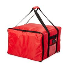 Rubbermaid PROSERVE® Large Red Pizza / Sandwich Delivery Bag