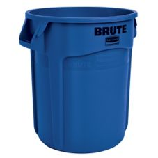 Rubbermaid BRUTE® Blue 20 Gal Container w/o Lid
