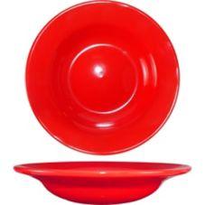 International Tableware CA-3-CR Cancun Red 12 Oz. Soup Bowl - 24 / CS