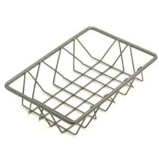 "Delfin WBK-96-PC62 Metro Gun Metal 9"" x 6"" x 2"" Wire Basket"
