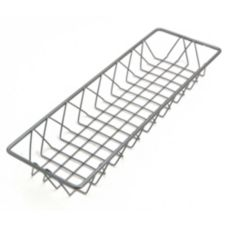 "Delfin WBK-186-PC62 Metro Gun Metal 18"" x 6"" x 2"" Wire Basket"