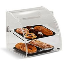 Vollrath® ESBC-2 Small Euro Bakery Case with Rear And Front Doors