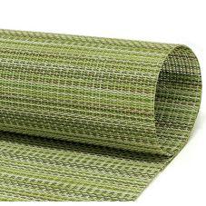 FOH® XPM091GRV83 Metroweave® Green Mesh Placemat - 12 / CS