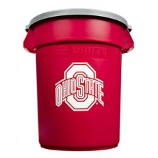 Rubbermaid Ohio State 32 Gal Brute Trash / Waste Container