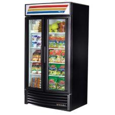 True® GDM-35-LD BLACK EXTERIOR Refrigerated Merchandiser