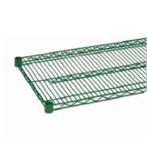 "Olympic Storage J2454K Green Epoxy Finish 24"" x 54"" Wire Shelf"