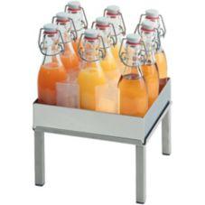 Frilich RB640E001 Carafine Coterie Beverage Platform Set w/ 9 Bottles