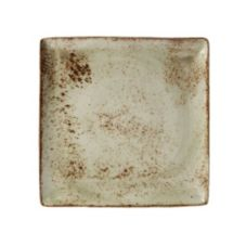 "Steelite 11310553 Craft Green 10-1/2"" Square Platter - 6 / CS"