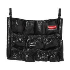 Rubbermaid 1867533 Executive Series Black Caddy Bag f/ BRUTE™