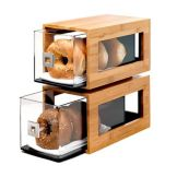 Rosseto® BD102 Natural Bamboo 2-Drawer Bakery Column