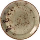 "Steelite 11310568 Performance Craft Green 6"" Couple Plate - 36 / CS"