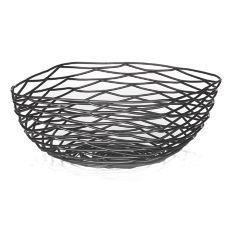 """TableCraft BK17310 Artisan Collection 10"""" Square Metal Basket"""