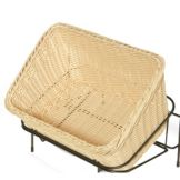 "G.E.T. Enterprises WB-1510-N Natural 9.25 x 13"" Cascading Basket"