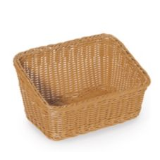 "G.E.T. Enterprises WB-1510-HY Honey 9.25 x 13"" Cascading Basket"