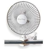"W.W. Grainger 6C507 Non-Oscillating  6"" Clip-On Fan"