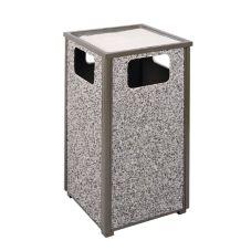 Rubbermaid® FGR18SU201PL Aspen Trash / Ash Outdoor Container