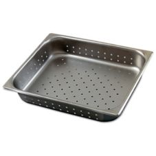 Browne Foodservice 8122P Half Size 4.3 Qt. Perforated Steam Table Pan
