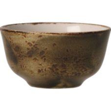 Steelite 11320379 Craft Brown 8 Oz Sugar / Bouillon Club Cup - 12 / CS