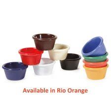 G.E.T. RM-387-RO Mardi Gras Rio Orange 2 Oz. Ramekin - 48 / CS