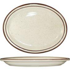 International Tableware GR-14 Granada 13.25 x 10.38 Platter - 12 / CS