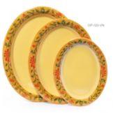 """G.E.T. OP-120-VN Venetian™ 12 x 9"""" Oval Platter - 12 / CS"""