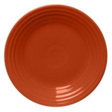 Homer Laughlin 465334 Fiesta® Paprika Luncheon Plate - 12 / CS