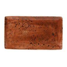 "Steelite 11330556 Craft Terracotta 7.5 x 12.5"" Platter - 6 / CS"
