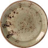 "Steelite 11310565 Craft Green 11-3/4"" Coupe Plate - 12 CS"