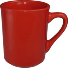 International Tableware 87241-664 Cancun 8-1/2 Oz. Red Mug - 36 / CS