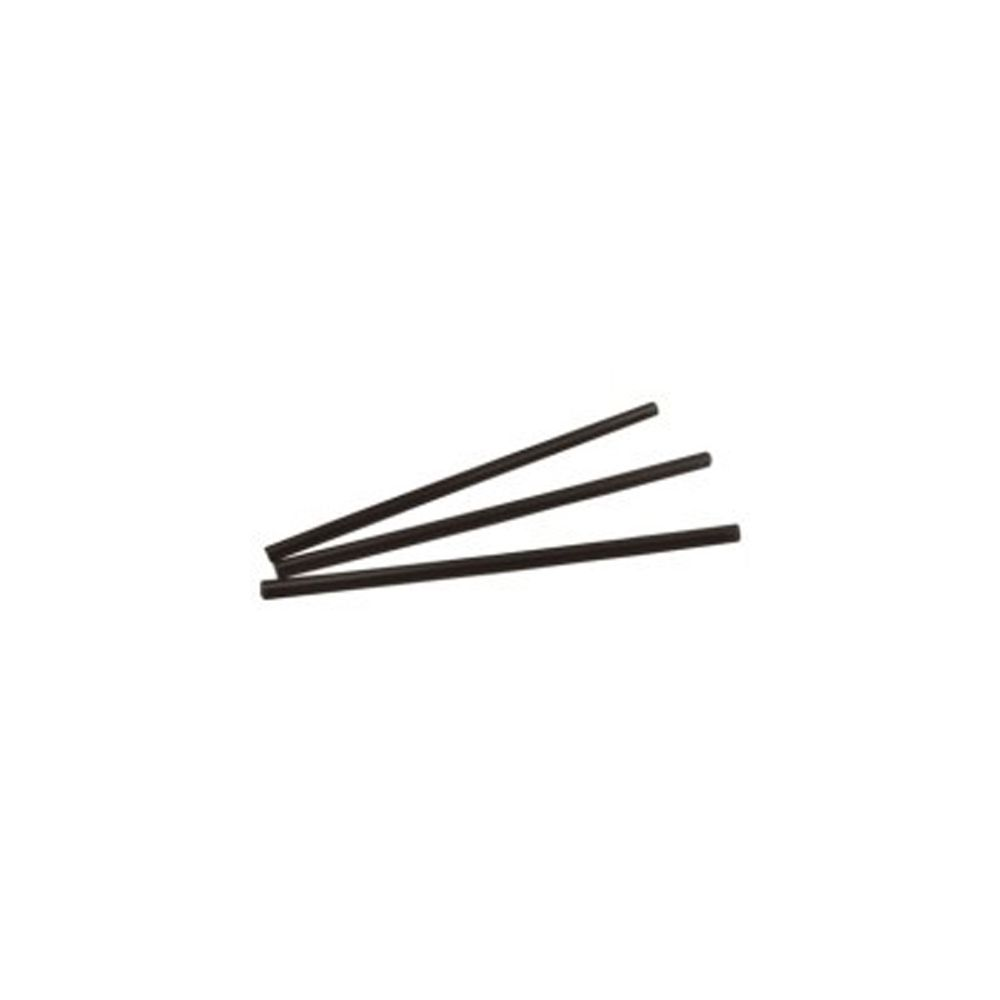 "Bar-Pak Cell-O-Core 6BPBK6500 Black 6"" Unwrapped Giant Straw - 3000 / CS at Sears.com"