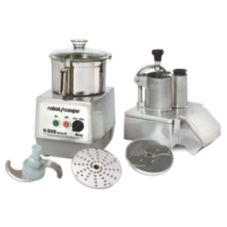 Robot Coupe R502 Combination Continuous Feed/Batch Bowl Food Processor
