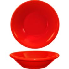 International Tableware CAN-11-CR Red 4-3/4 Oz. Fruit Bowl - 36 / CS