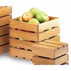 """Cal-Mil 1944-9-60 Bamboo 9"""" Square Crate Riser"""