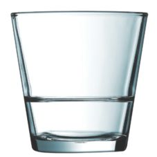 Cardinal J0317 Arcoroc 8.75 Oz. Stack Up Old Fashioned Glass - 24 / CS