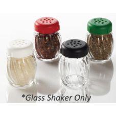 American Metalcraft 33BASE 6 Oz. Glass Shaker Base for Forever Lids