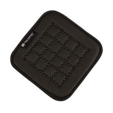 "San Jamar UHP55BK Ultigrips® 5.5"" x 5.5"" Black Hot Pad"