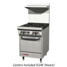 Southbend S24C W/CASTERS Natural Gas Oven with Range and Casters