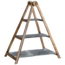 Villeroy & Boch 10-4130-7990 Artesano 3-Tier Wood / Slate Tray Stand