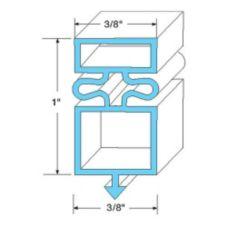 True® 810800 Door Gasket for TBB / TDD Right Side Door