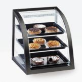 Cal-Mil P255-96S Midnight Bamboo Self Serve Display Case