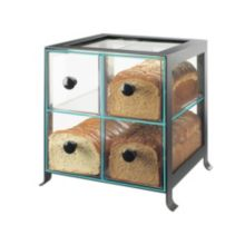 Cal-Mil 1586-13 Black Soho Bread Case