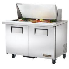 True® TSSU-48-18M-B Sandwich Prep Salad Table