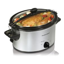 Hamilton Beach 33249 Stay or Go 4 Qt. Slow Cooker