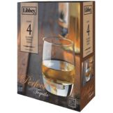Libbey 2342SRS4 4 Piece 9.5 Oz Perfect Tequila Glass Set
