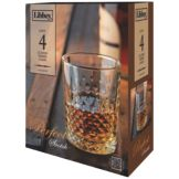 Libbey® 56616 4 Piece Perfect Scotch 12 Oz. Glass Set