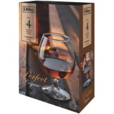 Libbey 8405S4 4 Piece Perfect Cognac 12 Oz. Glass Set