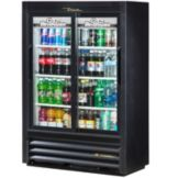 True Food Service GDM-33SSL-54-LD Two Section Convenience Store Cooler