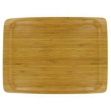 "Large 14"" x 10-1/2"" Bamboo Tray"