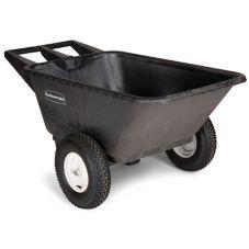 Rubbermaid® FG564000BLA 7.5 Cu. Ft. Low Wheel Cart